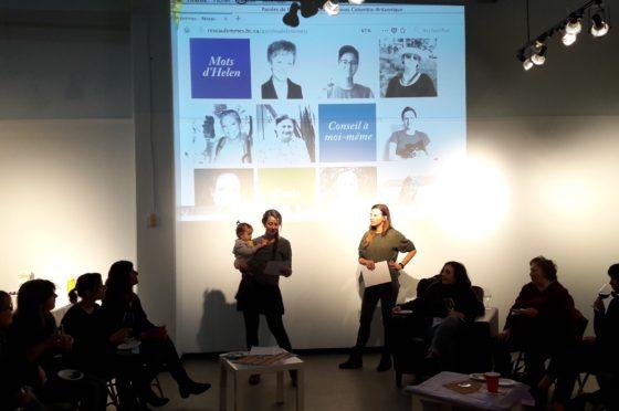 lancement paroles de femmes centre culturel francophone vancouver 8 mars