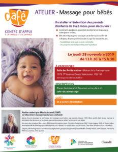 Centre d'Appui à la Famille et à l'Enfance - massage bébé