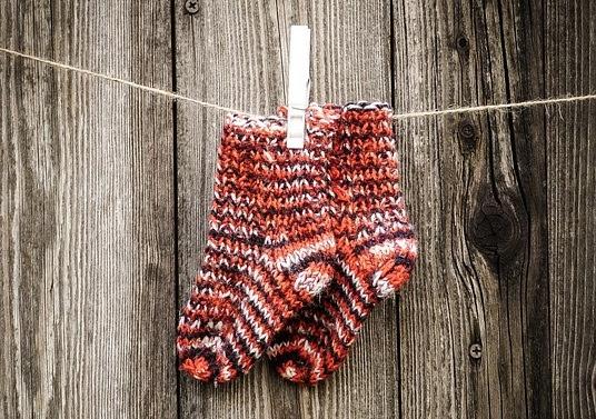 Chaussons bébé tricot