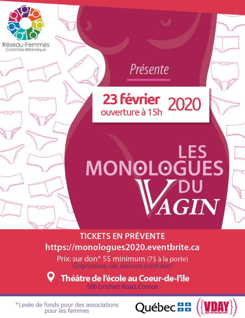 Affiche Les Monologues du Vagin